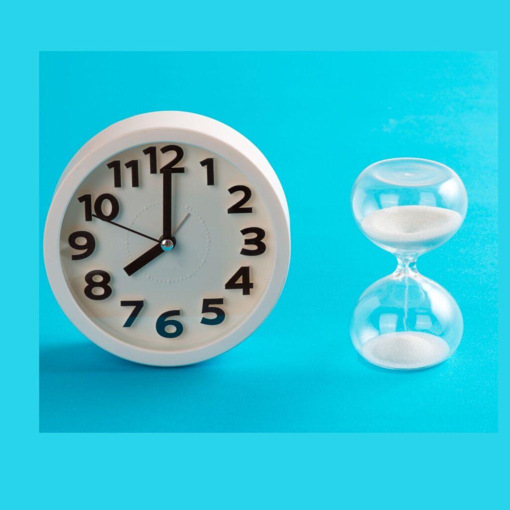 como enseñar a los niños a gestionar el tiempo